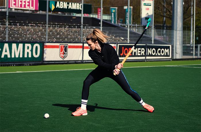 Ellen Hoog hockey slag